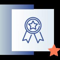 ikona przedstawiająca nagrodę